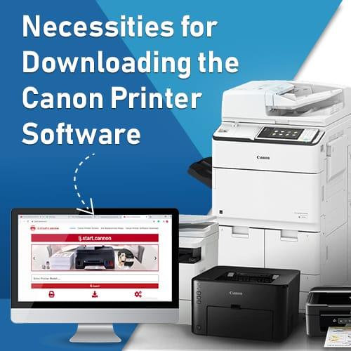 Canon Printer Software