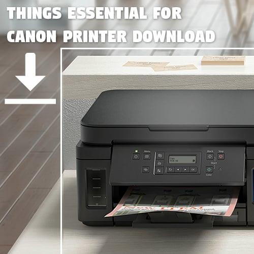 Canon Printer Download